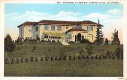 BEVERLY HILLS CALIFORNIA~TOM MIX RESIDENCE-AMERICAN COWBOY MOVIE ACTOR POSTCARD 1920s 33261 - Vereinigte Staaten