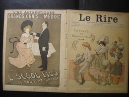 1901 LE RIRE Journal De Dessins Satiriques N° 365 Du 2 Novembre - Books, Magazines, Comics