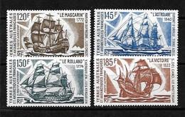 #324# TAAF YVERT PA 30/33 MNH** . SHIP, BATEAU, BARCO. - Airmail