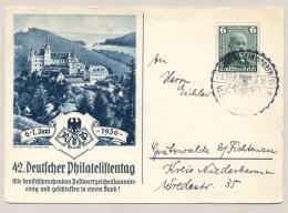 Deutsches Reich - 1936 - 6 Pf Daimler On Special Postcard - Deutschland