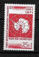 #278# TAAF YVERT 39 MNH**, GUM A BIT DISTURBED, SEE SCANS. - Unused Stamps