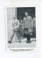 1938 3. Reich Photokarte Turnfest Breslau Konrad Henlein Und Von Tschammer Mi 666 SST - Allemagne