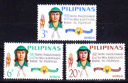 Scouts/ Scouting - Girl Scouts, Pilipinas 1966 / Complete - MNH - Philippines