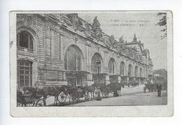 CPA Paris 07 Paris Gare D'Orléans Quai D'Orsay Fiacres 1906 20 - Arrondissement: 07