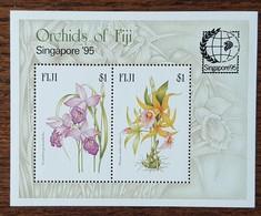 FIDJI - YT BF N°17 - Exposition Philatélique Singapour / Orchidées - 1995 - Neuf - Fidji (1970-...)