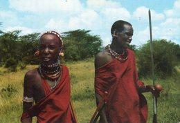GUERRIERS MASAI - Kenya