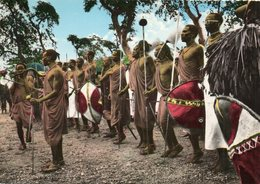 DANSE DE GUERRIERS  MASAI...EDIT EAST AFRICA  NO.1319 - Kenya