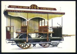 Z03 - Belgium Brussels St Josse-ten-Noode - Tram 1870 - Unused - Strassenbahnen