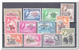 Ghana 1957, Postfris MNH, Independence, Goldcoast - Ghana (1957-...)