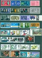 MNH Lot Of GB Stamps- Value: $ 9.75 - 1952-.... (Elizabeth II)