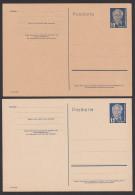DDR 12 Pf Wilhelm Pieck 2 GA P50/03 * Verschiedene Papiere - [6] República Democrática