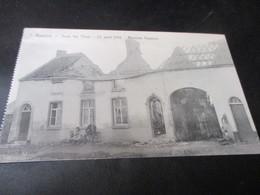 Roselies , Sous Les Obus, Maisons Vigenon 1914 - Farciennes