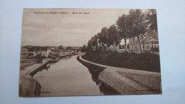 Carte Postale (H5) Ancienne De Vallon En Sully , Quai Du Canal - Frankrijk