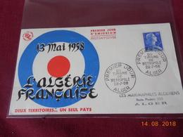 FDC De 1958 . Algerie Francaise - Algérie (1924-1962)