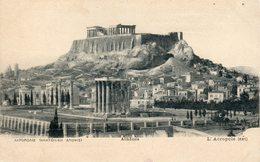 Athènes  -  L'Acropole (est) - Greece