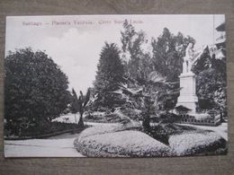 Tarjeta Postal - Chile Chili - Santiago - Plazuela Valdivia Cerro Santa Lucia - Hume Y Ca Ahumada 357 - Chili