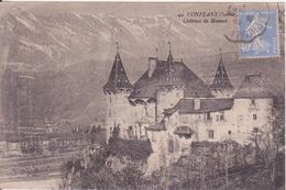 CPA - 44. CONFLANS (Savoie) - Château De Manuel - Frankreich