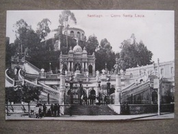 Tarjeta Postal - Chile Chili - Santiago - Cerro Santa Lucia - Hume Y Ca Ahumada 357 - Chile
