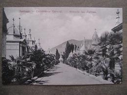 Tarjeta Postal - Chile Chili - Santiago - Cementerio General Avenida Las Palmas - Hume Y Ca Ahumada 357 - Chili