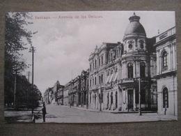 Tarjeta Postal - Chile Chili - Santiago - Avenida De La Delicias - Hume Y Ca Ahumada 357 - Chili