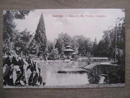 Tarjeta Postal - Chile Chili - Santiago - Lagune Del Parque Cousino - Hume Y Ca Ahumada 357 - Chile