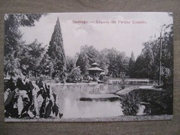 Tarjeta Postal - Chile Chili - Santiago - Lagune Del Parque Cousino - Hume Y Ca Ahumada 357 - Chili