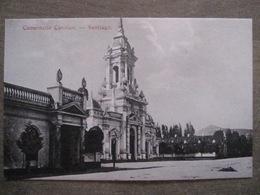 Tarjeta Postal - Chile Chili - Santiago - Cementerio Catolico - Hume Y Ca Ahumada 357 - Chili