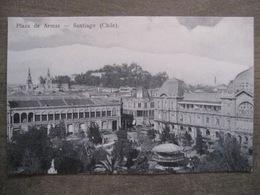 Tarjeta Postal - Chile Chili - Santiago - Plaza De Armas - Hume Y Ca Ahumada 357 - Chili