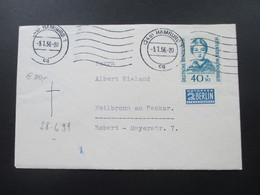 BRD 1955 / 56 Wohlfahrt Helfer Der Menschheit Nr. 225 Einzelfrankatur! Katalogwert 120€ - [7] Federal Republic