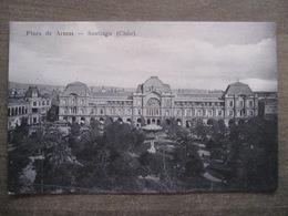 Tarjeta Postal - Chile Chili - Santiago - Plaza De Armas - Hume Y Ca Ahumada 357 - Chile