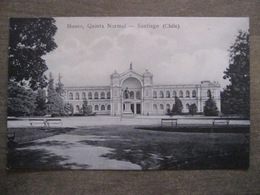 Tarjeta Postal - Chile Chili - Santiago - Museo Quinta Normal - Hume Y Ca Ahumada 357 - Chili