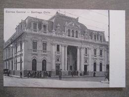 Tarjeta Postal - Chile Chili - Santiago - Correo Central - Hume Y Ca Ahumada 357 - Chili