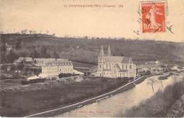 """** Lot De 2 Cartes ** 50 - LA CHAPELLE SUR VIRE : Deux Cartes """" Similaires """" - CPA Village (hameau) - Manche - France"""