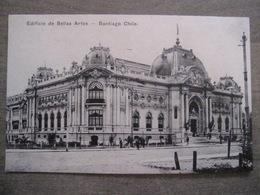 Tarjeta Postal - Chile Chili - Santiago - Edificio De Bellas Artes - Hume Y Ca Ahumada 357 - Chili