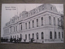 Tarjeta Postal - Chile Chili - Santiago - Escuela Militar - Hume Y Ca Ahumada 357 - Chili