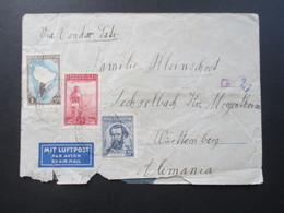 Argenitinien 1940 Luftpostbrief Via Condor Lati. OKW Zensur! Mehrfachzensur!! Wehrmacht - Argentinien
