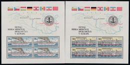 CSSR, 1982, 2679/80 Block 51/52, MNH **, Donaukommission. - Blocs-feuillets