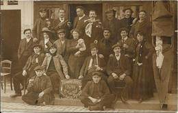 """Carte Photo DIJON """"Trimards Joyeux"""" Sur Le Tour De France 1911 - Dijon"""