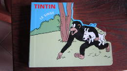 TINTIN LIVRE POUR ENFANT LE SINGE  HERGE - Tintin