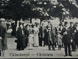 Romania Roumanie - CALIMANESTI-CACIULATA - 1917 Sursa Caciulata - Roumanie