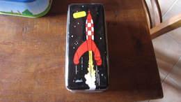 BOITE A BISCUIT TINTIN LA FUSEE - Tintin