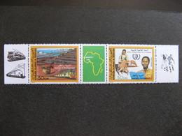 A).Mauritanie: TB Bande PA N° 237A , Neuve XX. Vignette Continent Africain. - Mauritania (1960-...)