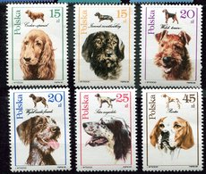 Pologne ** N° 3003 à 3008 - Chiens - Cani