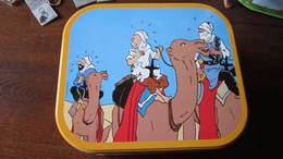 BOITE A BISCUIT TINTIN A DOS DE CHAMEAU - Tintin
