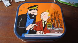BOITE A BISCUIT TINTIN LA LICORNE - Tintin