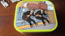 BOITE A BISCUIT TINTIN LES DUPONTD - Tintin