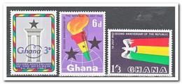 Ghana 1962, Postfris MNH, 2 Years Republic - Ghana (1957-...)