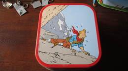 BOITE A BISCUIT TINTIN DANS LES MONTAGNES - Tintin