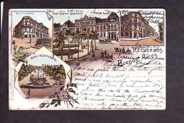 Amerique . Argentine . Buenos-Aires . Multi-Vues . Timbre 1904 . - Argentine