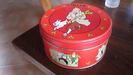 BOITE DE CHOCOLAT TINTIN ET LE SCEPTRE - Tintin